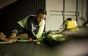 Franck Cammas Extrem Sailing Series Singapour